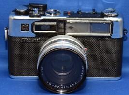 YASHICA G ELECTRO 35 Vintage Film Camera YASHINON f/1.7 45mm Lens Japan - $38.70