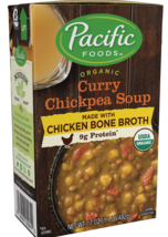 Pacific Foods Organic Curry Chickpea Soup Made with Chicken Bone Broth 1... - $69.29