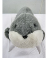 Fancy Zoo I Am The Walrus Seal  Collectable Gray  Furry Animal Pet - $20.95