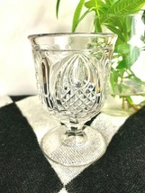New England Pineapple Egg Cup Clear Flint Pattern New England Glass 1860... - $14.84