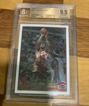 2003-04 LEBRON JAMES TOPPS CHROME #111 ROOKIE RC BGS 9.5 GRADED NICE PSA... - $8,118.00