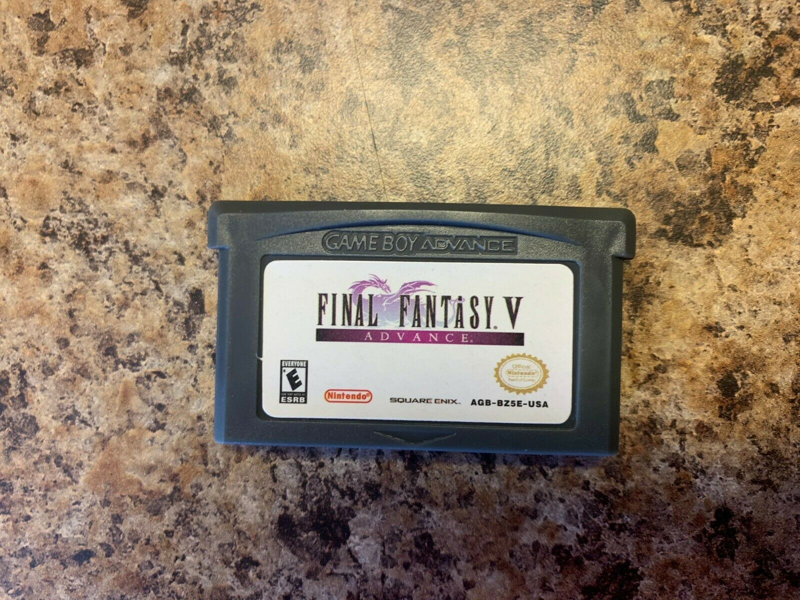 Final Fantasy V Advance (Nintendo Game Boy Advance, 2006) Tested Working