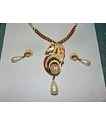 Hattie Carnegie Horse Necklace Brooch Matching Clip Earrings Enamel Faux... - $750.00
