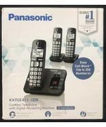 Panasonic KX-TGE433 3 Cordless Phones w/Answering System Black - $54.40