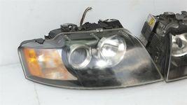 03-06 Audi A4 Cabrio Convertible XENON HID Headlight Head Lights Set L&R image 3