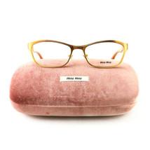 Miu Miu VMU 55L LAE Gold 5117 140 Plastic New Authentic Eyeglasses - $65.55