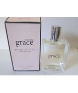 Vintage Philosophy AMAZING GRACE 2 oz EDP Spray Black Rim Box Pre Coty - $99.99