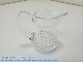 """Waterford Crystal Creamer Pitcher 4"""" Alana Pattern T139 - $19.31"""