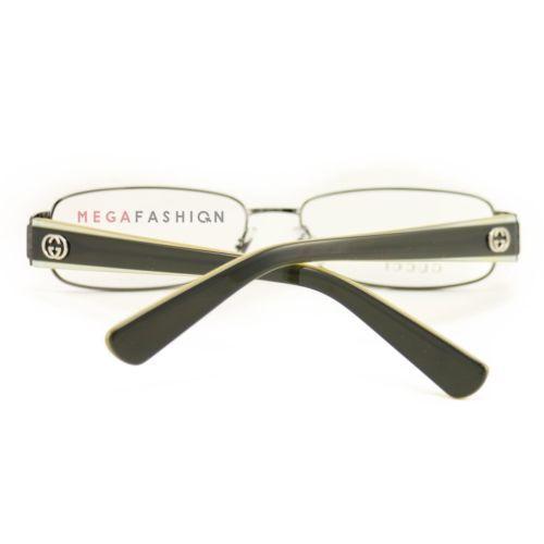 e42350fcd6 New Gucci Eyeglasses GG 2869 IRX Dark Ruthenium Gray 54 15 135 Authentic