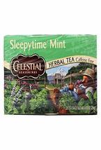 Celestial Seasonings Tea Sleepy time Mint 20 Bag, 20 ct - £4.77 GBP