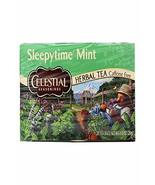 Celestial Seasonings Tea Sleepy time Mint 20 Bag, 20 ct - $6.17