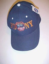 New York City Fire Department FDNY Logo Unisex Adult Blue Cap One Size N... - $19.79