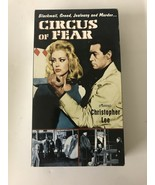 Circus of Fear VHS Horror Movie Rare  Alpha Video 1996 - $14.01