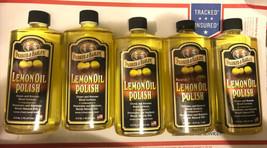 5 bottles Parker & Bailey 510664 Natural Lemon Oil Polish, 16 Oz - $49.99