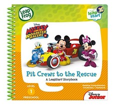 LeapFrog LeapStart 3D Mickey and the Roadster Racers Book - $9.86