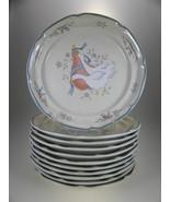 International China Marmalade Salad Plates Set of 11 - $40.16