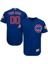 Men's Chicago Cubs Blue FB Custom NAME & NUMBER Cheap Jersey Stitched - €39,90 EUR