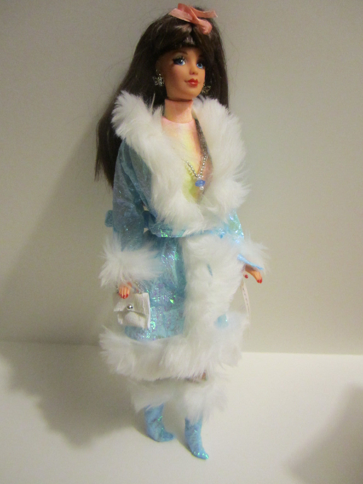 Collector Barbie Blue Mini Go Maxi OOAK by Angie Gill GILLYGALS