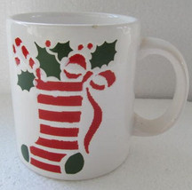 "WAECHTERSBACH ""Christmas hanging Sock"" Collectible Novelty Mug Made In S... - $15.99"