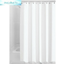 InterDesign Fabric Long Shower, Modern Mildew-Resistant Bath Curtain Lin... - $9.95