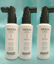 Nioxin 1 Scalp Treatment Normal To Thinning Fine Hair Uv Defense 3 X 1.7oz New!! - $14.09