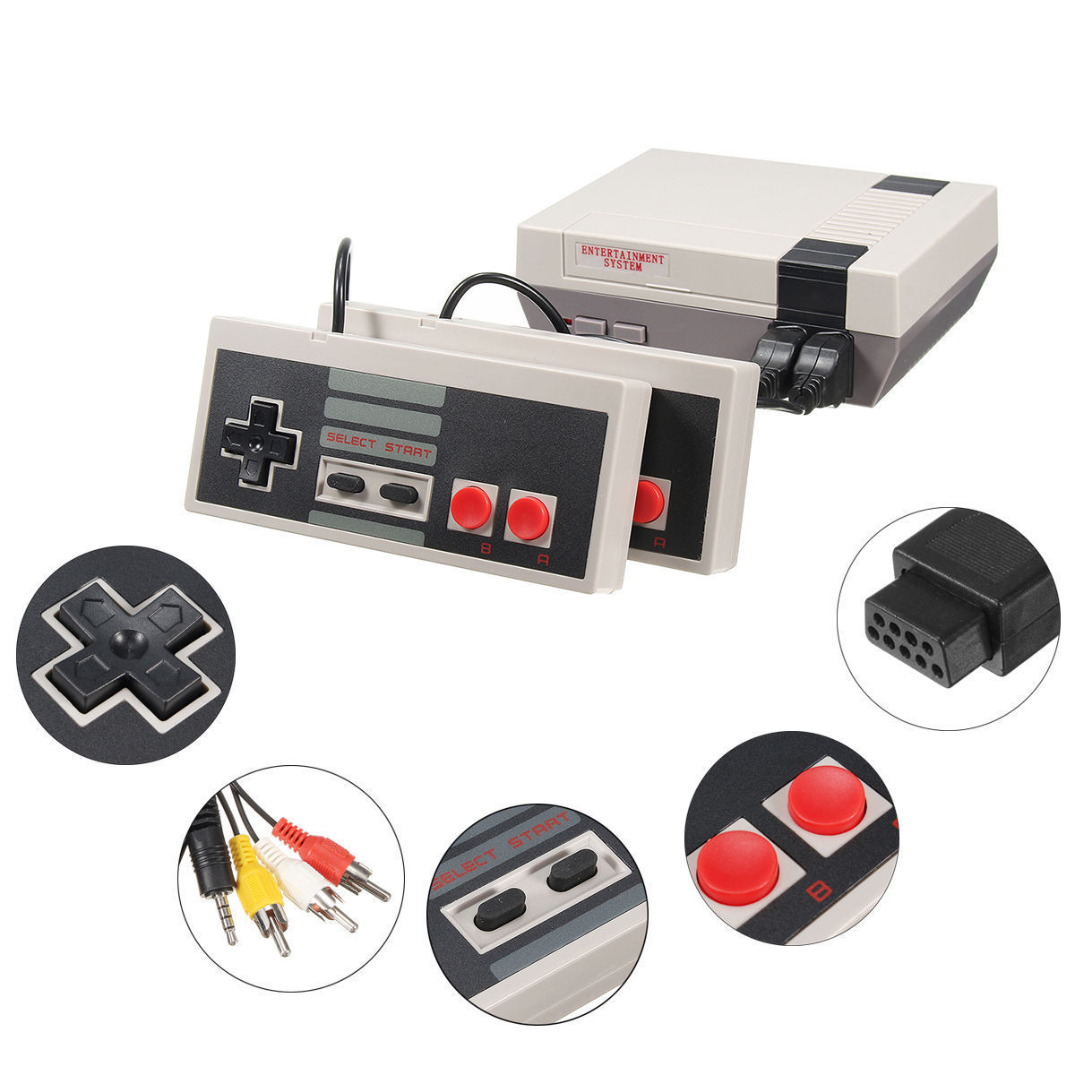 Retro NES Classic Style Video Game Console and 50 similar items