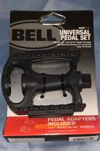 "Bell Kicks 350 Universal Bike Pedal Set Fits 1/2""- 9/16"" Black - $9.79"