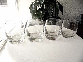 Set of 4 Double Old Fashioned Rocks Glasses - $25.74