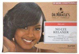 Women Dr. Miracle's Thermalceutical Intensive No-Lye Relaxer Super Hair ... - $30.28
