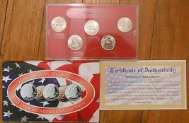 1999 Uncirculated State Quarter Denver Mint Set. - $5.00