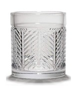 "Ralph Lauren ""Herringbone"" Double Old Fashioned Glasses, Set Of 4 - $69.99"