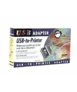 SIIG USB to IEEE 1284 Par Port USB to Printer USBA/Cent36 - $19.59