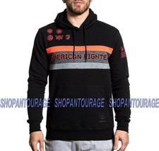 American Fighter Medford FM7685 Sport Graphic Hooded Pullover Top By Aff... - $59.91
