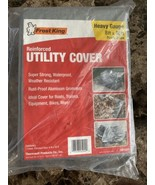 Frost King Reinforced 8'x10' Utility Cover bikes boats trailers.Free Shi... - $19.79