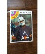 1978-79 TOPPS SIGNED CARD MICHEL PLASSE ROCKIES SCOUTS PENGUINS CANADIEN... - $24.99