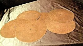 Metal TurnTable Mat with Rubber Backing (Six) AA20-2144 image 5