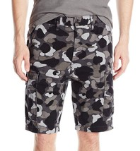 Levi's Men's Duck Camo Twill Cargo Shorts Trunks Harvest Graphite 232510002