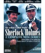 Sherlock Holmes 2 Complete Mini-Series DVD 2 Disc Edition( Ex Cond.)  - $19.60