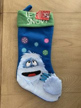 Rudolph The Red Nosed Reindeer 19.5 Inch Christmas Bumble Stocking - $19.75