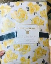 Pottery Barn Teen Marigold Sheet Set Yellow Black King Emily Merritt Teen 4pc - $159.00