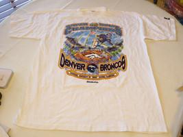 Mens XL NFL Super Bowl Champions XXXIII Denver Broncos t shirt football ... - $26.72