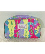 MINT Lilly Pulitzer For Estee Lauder Makeup Make-up Bag Dragon Fly Brigh... - $18.32