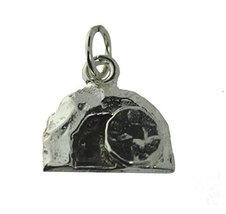 Empty Tomb of Jesus Sterling silver Jewelry charm Oxidized Version custo... - $21.29