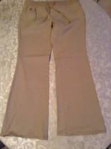 Justice pants Girls Size 12H plus khaki uniform pants  - $15.99