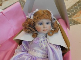 New! Franklin Mint Maryse Nicole Porcelain Doll - ISABELLE! - $46.39