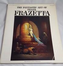 the fantastic art of Frank Franzetta Vol. 1-3, peacock press/Bantam Books - $18.70