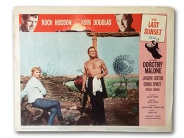 """THE LAST SUNSET"" ORIGINAL 11X14 AUTHENTIC LOBBY CARD PHOTO 1961 DOUGLAS... - $19.09"