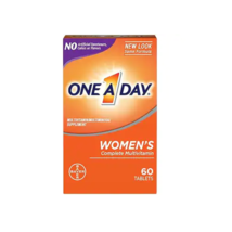 1X One A Day Women Multivitamin Supplement Complete Multivitamin Exp 03/22 60ct - $9.99