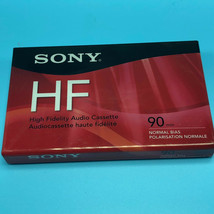 Sony HF Audio Cassette Tapes 90 Minutes Normal Bias igh Fidelity blank media 3 - $8.75