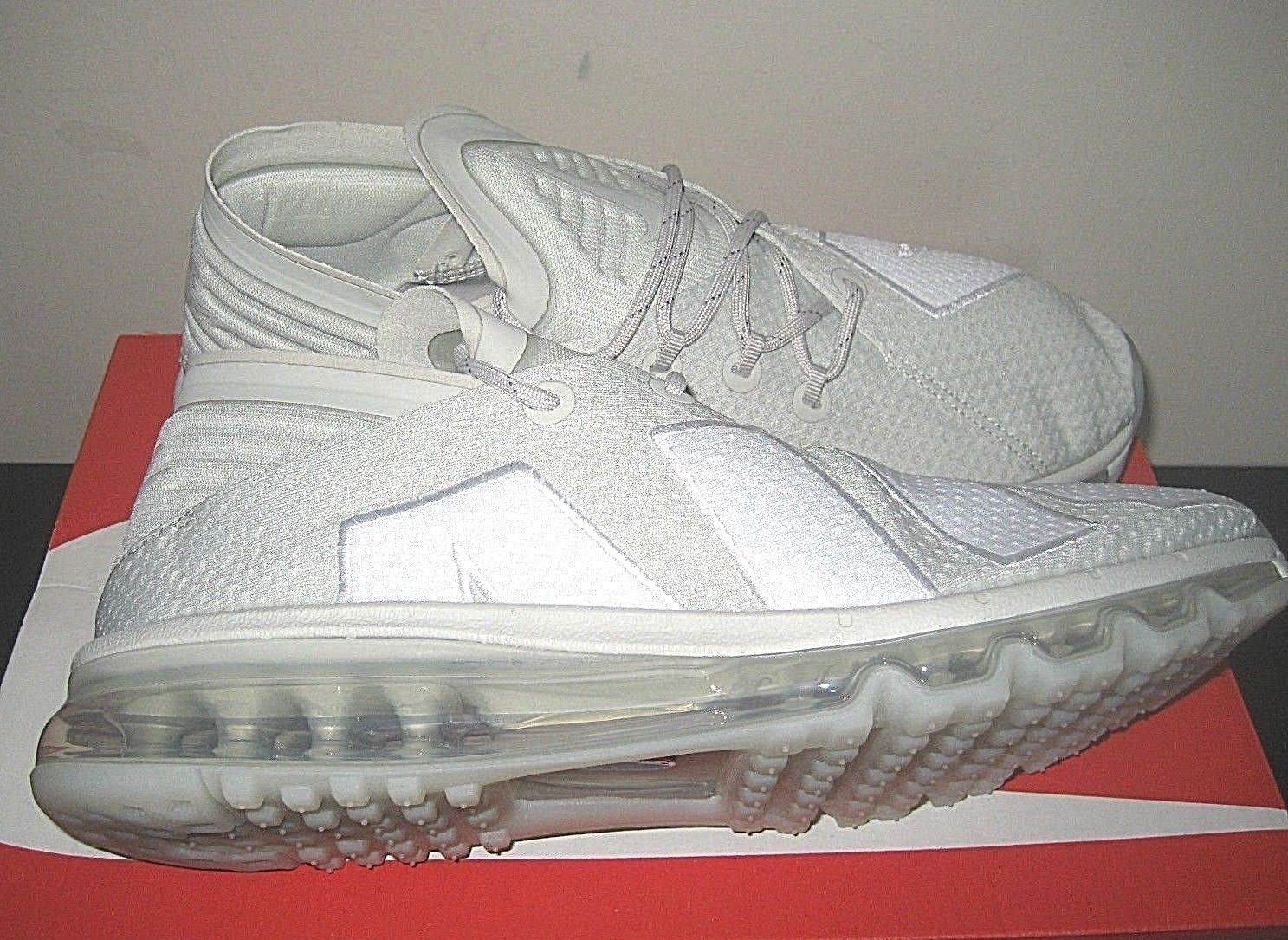 7db0566f6fd14 ... Nike Mens Air Max Flair Running Shoes Light Bone White Cool Grey Size 9  New ...